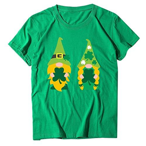 serliySt. Patricks Day - Kleeblatt Motiv für St. Patricks Day - Tailliertes Tshirt für Damen und Frauen T-Shirt