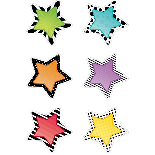 Creative Lehre Press Bold & Bright Stars Aussparungen 6