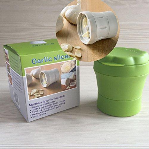 Ingwer Knoblauch In Scheiben Geschnitten Knoblauch Zerdrücken Maschine Küche Gadget Verkaufweiße (Ingwer Pinsel)