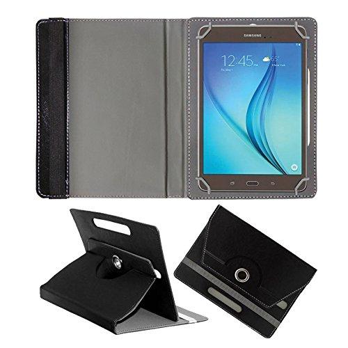 Fastway Rotating 360 Leather Flip Case For Samsung Galaxy Tab A SM-T355Y Black