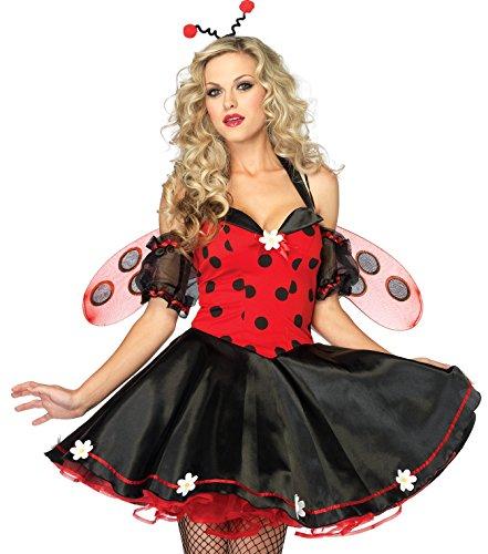y Bug Kostüm M/L, 1 Stück (Lady Käfer Kostüm)