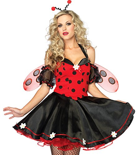 Kostüm Daisy Bug - Leg Avenue Daisy Lady Bug Kostüm M/L, 1 Stück