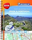 Spain and Portugal 2014 A4 Spiral Atlas (Michelin Tourist and Motoring Atlas)