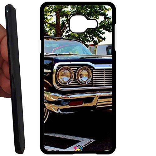 Custodia cover RIGIDA per Samsung Galaxy A5 2016 A510 -sb ner 256 Vintage Chevrolet