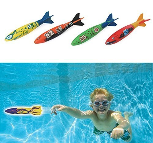 edealing-set-of-4pcs-toypedo-bandits-swimming-pool-diving-game-summer