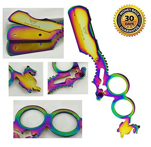 Professionelle Rasiermesser für Herren–Haarentfernung Rasierer–Salon Barber Razor–NEUE, verbesserte Qualität–Ideal Geschenk-Set