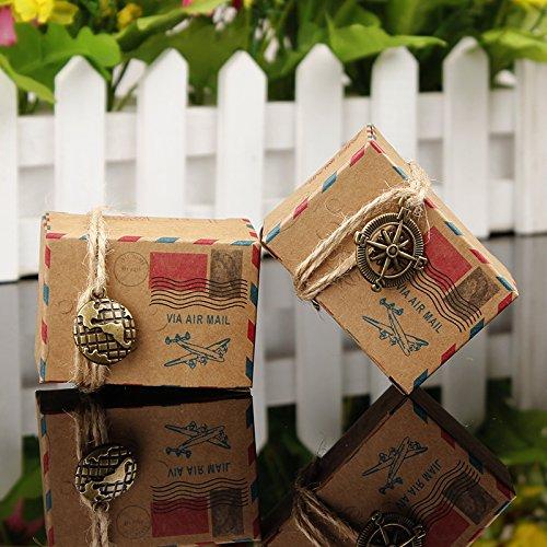 50pz-scatole-cubo-portaconfetti-segnaposto-tema-viaggio-mondo-corda-di-canapa-accessori-vintage-comp