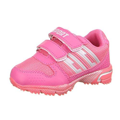 Kinder Schuhe, K1-7, FREIZEITSCHUHE Pink 8