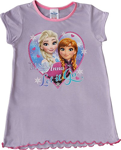 Disney Girls Frozen Elsa Anna Nightie Nightdress