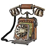 LLP LM Antike Telefon Alte Kamera Telefonanrufanzeige Komplexes Antikes Telefon 24 * 26 * 13cm