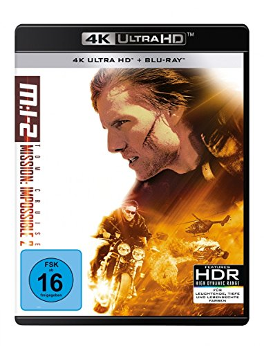 Mission: Impossible 2 - M:i-2 (4K Ulta HD) (+ Blu-ray 2D)
