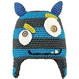 BARTS Monster Beanie pasamontañas, Gris Stile Mostro con Orecchie BLU, (Talla del...