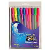 #8: Sakura Gelly Roll Moonlight (Set Of 10)Pens Roller-Ball Pens Water Based Gel Ink Acid Free, Water, Fade And Chemical Proof