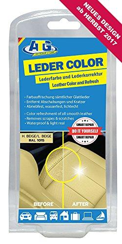 ATG ATG028 Leder-Color Lederfarbe inkl. Schwamm - beseitigt Kratzer, Abschürfungen und Abnutzungen...