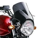 Cabina verkleidung Puig WINDY oscuro tintadas para Kawasaki EL 250/252Eliminator, unidades de 5Twister, Estrella 250, W650/800, Zephyr 550/750/1100, ZR de 7, ZRX 1200con ABE