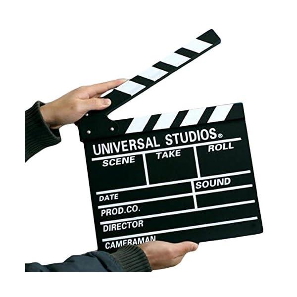 ciak cinematografico  DP DESIGN® CIAK CINEMATOGRAFICO IN LEGNO CINEMA 27X30cm SET FILM ...