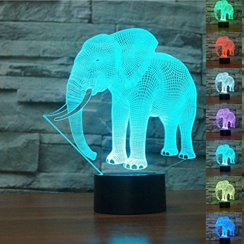 che Illusions-Lampen, Tolle 7 Farbwechsel Acryl berühren Tabelle Schreibtisch-Nachtlicht mit USB-Kabel für Kinder Schlafzimmer Geburtstagsgeschenke Geschenk (Charlie Brown Halloween-musik)