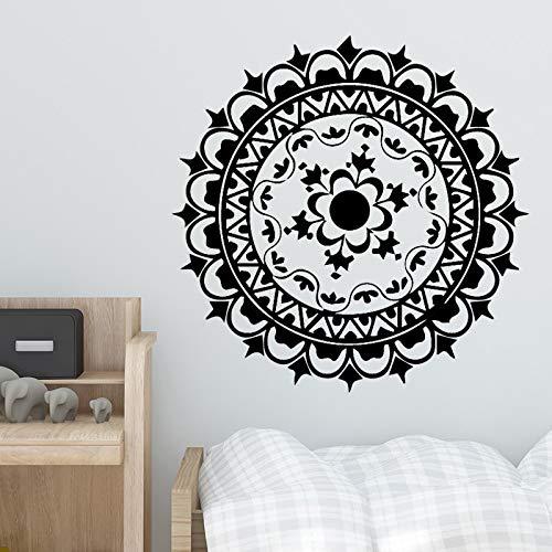 Amüsant Kreis Wandaufkleber Vinyl Wasserdicht Dekoration Zubehör Dekor Wohnzimmer Schlafzimmer Abnehmbare Vinyl Kunst Aufkleber 43 * 43 cm -