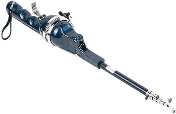 Zibuyu Folding Mini Rod Telescopic Pole Portable Fishing Rod with Fishing Line