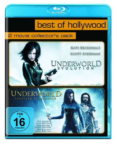 Underworld Evolution/Underworld - Aufstand der Lykaner - Best of Hollywood/2 Movie Collector's Pack [Blu-ray]