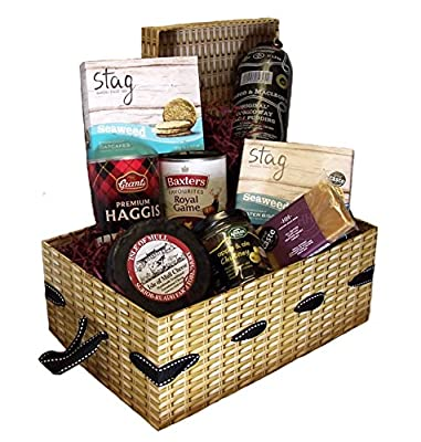 The Isle of Jura Luxury Scottish Food Hamper with Stornoway Black Pudding