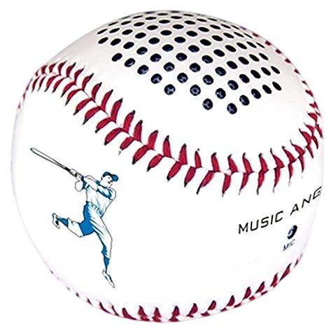 merrystore @ Leder Cover handverarbeitete und Nähte Bluetooth Baseball Wiederaufladbare