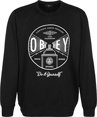 Obey Under Pressure Crew Sweater black