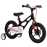 Royal Baby Space Shuttle MG Bicicleta, Unisex Niños, Negro, 16""