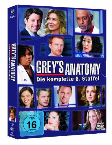 Grey's Anatomy: Die jungen Ärzte - Die komplette 6. Staffel [6 DVDs] (Katherine Dvd Heigl-filme)
