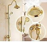 Sursy sprenger, voller kupfer, goldene sprinkler aufhebung starkstrom - dusche,c