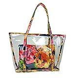 Mengonee La bolsa de dos empaqueta el sistema de la impresión floral muchacha de las mujeres del...