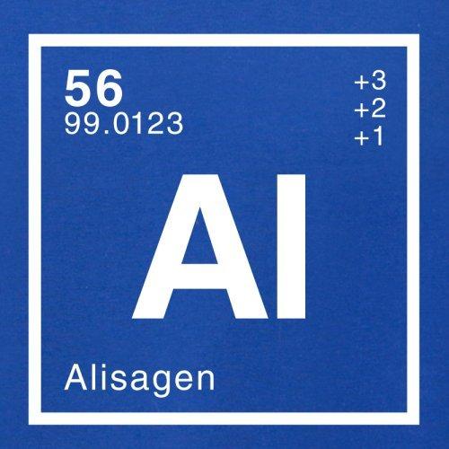 Alisa Periodensystem - Herren T-Shirt - 13 Farben Royalblau