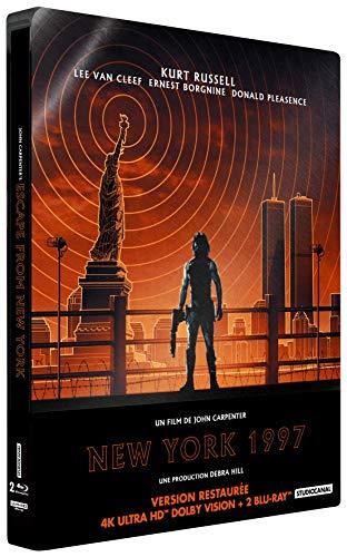 Image de New York 1997 [4K Ultra HD Blu-Ray Bonus-Édition boîtier SteelBook]