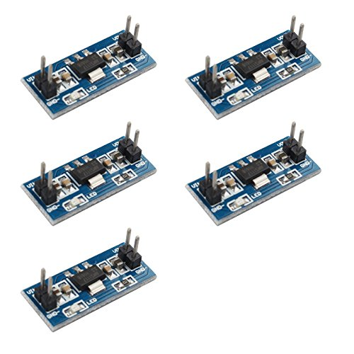 haljia 5x DC DC 4,5–7V zu 3.3V AMS1117–3.3V Konverter Step Down Power Voltage Regulator Module Buck Netzteil