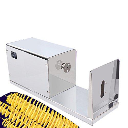 mxbaoheng Elektrische Spirale Kartoffel Cutter für Verkauf Automatische Tornado Homemade Kartoffel Chip Gemüsehobel Twister Maschine Lieferant (Automatische Slicer)
