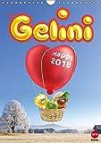 Gelini (Wandkalender 2018 DIN A4 hoch): Knuffiges Geschenk für alle Fans (Monatskalender, 14 Seiten ) (CALVENDO Spass)