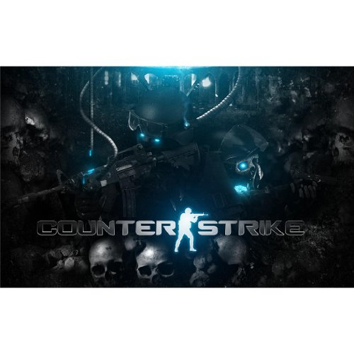 Counter-Strike-Poster-On-Silk-56-x-35-cm-or-96-x-60-cm-22-x-14-inch-or-38-x-24-inch-Seide-Plakat-D1C00D