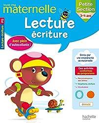 Toute Ma Maternelle - Lecture Écriture Petite Section