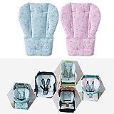 Wankd Coussin Protège Siège Bébé pour Poussette/ Voiture/ Chaise Haute Housse de Protection Respirant Résistant à l'eau