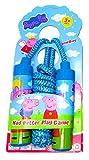 Apoo1 Peppa Pig Springseil, weicher Griff, 220 cm, blau