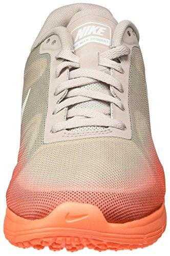 Nike Wmns Air Max Sequent, Chaussures de Running Femme, 16 EU Orange - Naranja (Hypr Orng / White-Vlt Ash-Mtllc)