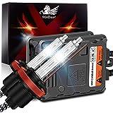 WinPower H11 H8 H9 55W AutoHID Xenon Kit mit Vorschaltgerät und CAN-Bus Super DecoderScheinwerfer Ersatz Birne 8000K Eisblau,2 Stücke