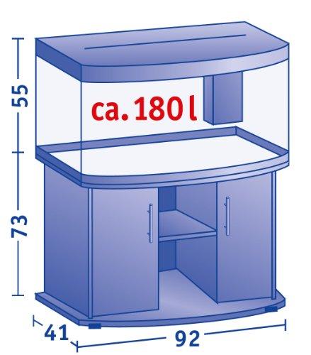 Juwel Aquarium 71030 Unterschrank Vision 180 SB, schwarz - 2