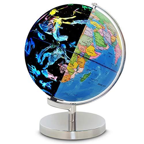Fenteer 2 in 1 Beleuchtete Weltkart & Konstellation Globus Nachtlichter für Kinder Geographie & Geschichte Lernspielzeug