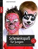 Schminkspaß für Jungs: Vom Faußballfan bis zum Ritter ist alles dabei (kreativ.kompakt.kids)