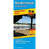 Radwanderkarte Niederrhein - Nördlicher Teil: Mit Ausflugszielen, Einkehr- & Freizeittipps, reissfest, wetterfest, abwischbar, GPS-genau. 1:100000