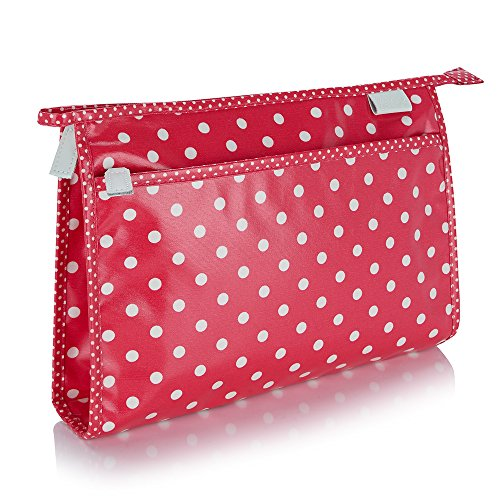 Victoria Verde Pois Wash Bag