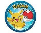 Amscan 541859Teller 18cm rd Pokemon Core