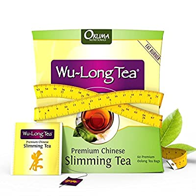 Okuma Nutritionals Thé minceur Wulong (Oolong) 100 % naturel Cure de 1 mois (60)