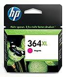 HP 364XL - Cartucho de tinta Original HP 364XL de álta capacidad Magenta para HP DeskJet, HP OfficeJet y HP PhotoSmart